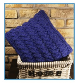 ręcznie robiona poduszka malaga handmade