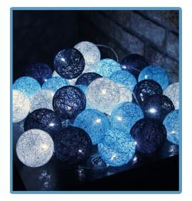 ręcznie robione świecące kule cotton ball pulsar handmade