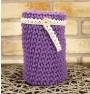 ręcznie robiony koszyk paula handmade ze sznurka bawełnianego