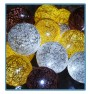 ręcznie robione świecące kule cotton ball jupiter handmade