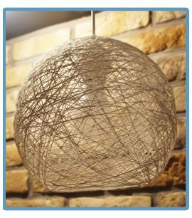 ręcznie robiona lampa daisy handmade